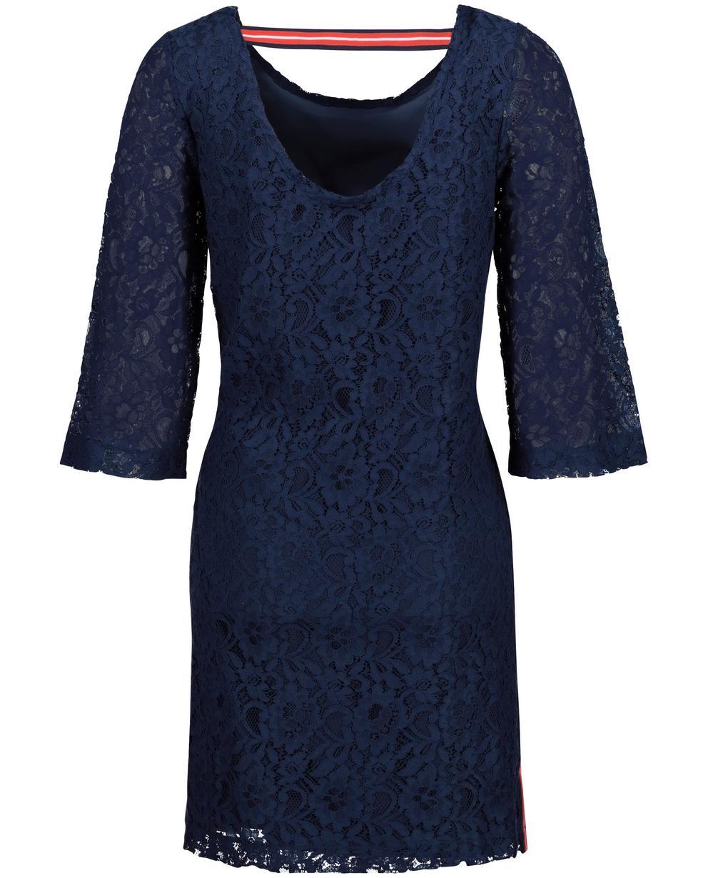 89f41f15a8320f Jurken - BLD - Nachtblauwe jurk